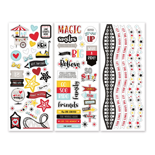 Sparks of Magic Stickers  (3/pk)