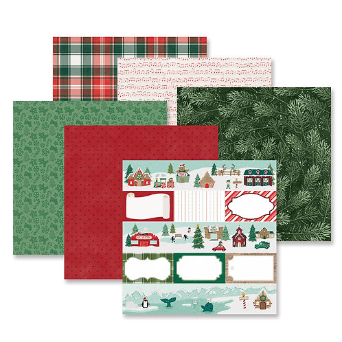 Christmas Spirit Paper Pack (12/pk)