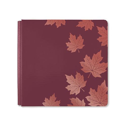 12X12  Boysenberry Hello, Autumn Album Cover