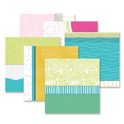 Summertime Fast2Fab™ - Inspired Designer Paper Pack (12/pk)