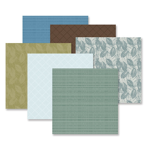 Spring Cottage Tone on Tone  Paper Pack (12/pk)