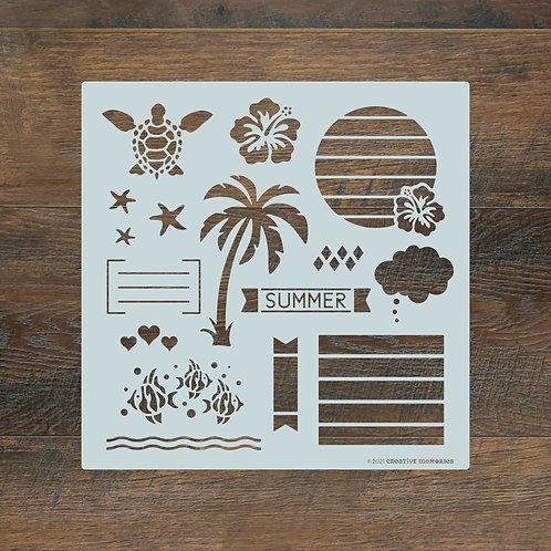 Summertime Journal Template