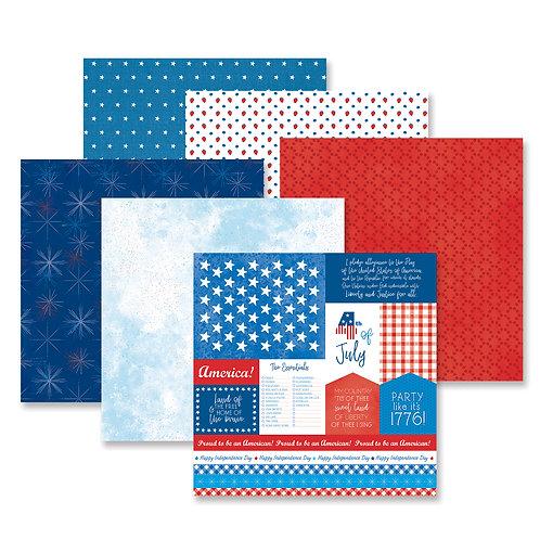 Festive Fourth Paper Pack (12/pk)
