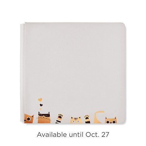 12X12  Warm Grey Cattitude Album Cover