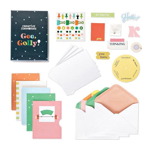 Gee, Golly! Card Kit (12pk)