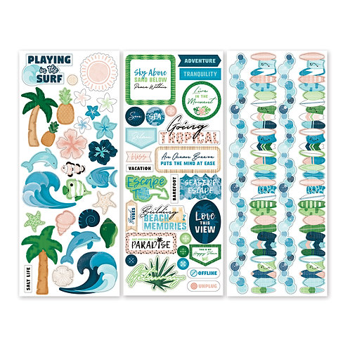 Vitamin Sea Stickers (3/pk)