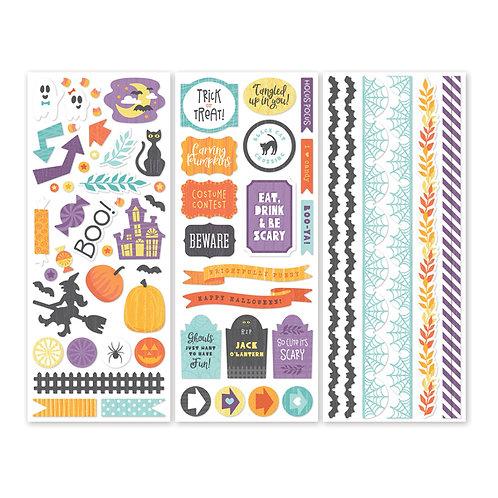Wicked Cute Stickers (3/pk)