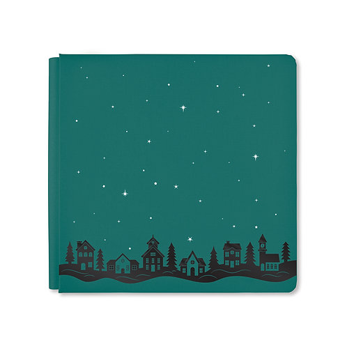 12X12 Hunter Green Christmas Spirit Album Cover