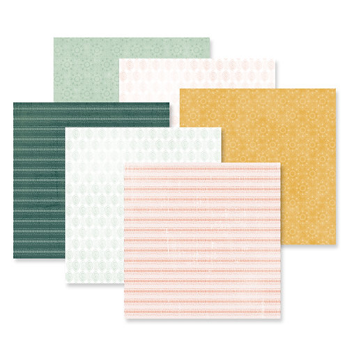Boho Escape Tone on Tone  Paper Pack (12/pk)