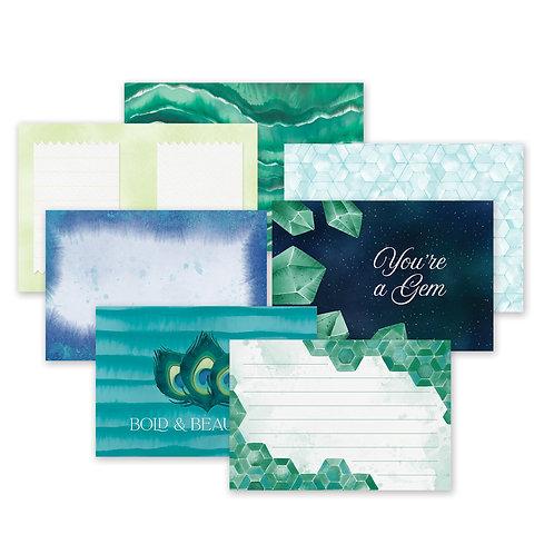 Emerald Gemstone  Mat Pack (24/pk)