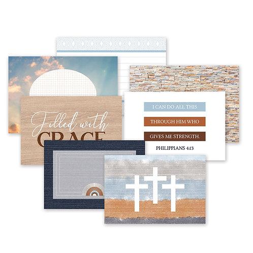 Keep the Faith Mat Pack (24/pk)