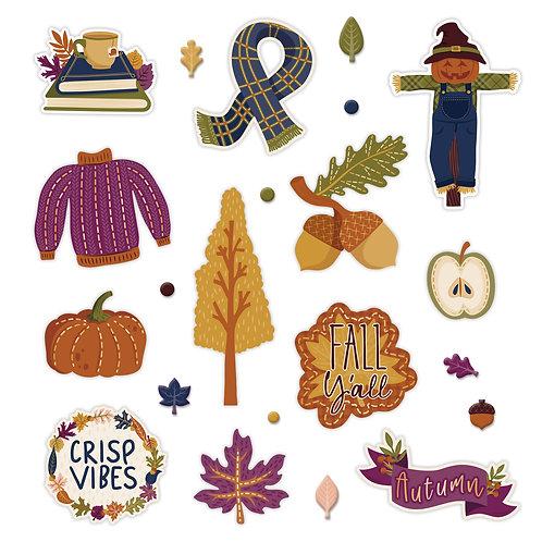 It's Fall Y'all Embellishments