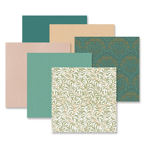 Art Noveau Paper Pack (12/pk)