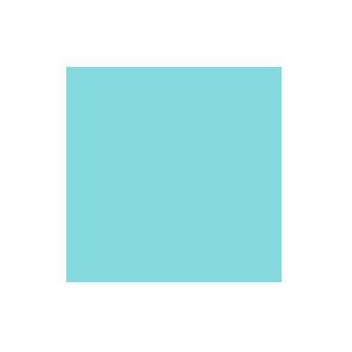 Aqua Solid 12x12 Cardstock Paper Pack (10/pk)