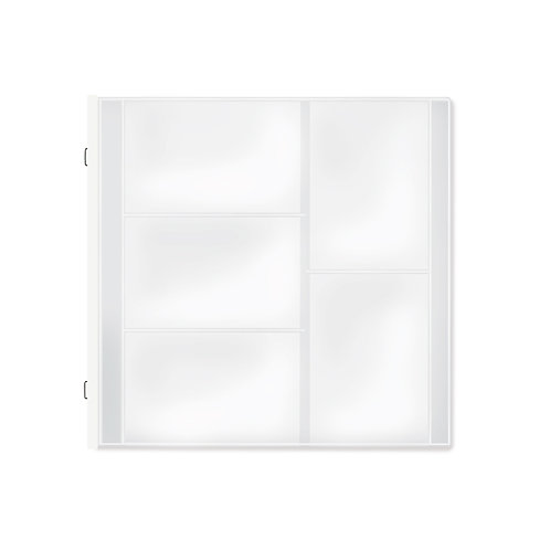 Multi Pocket Page for 12x12 (12/pk)