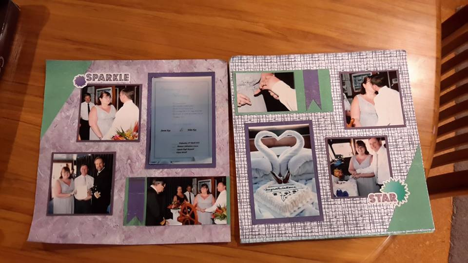 Using the National Scrapbooking Day papers