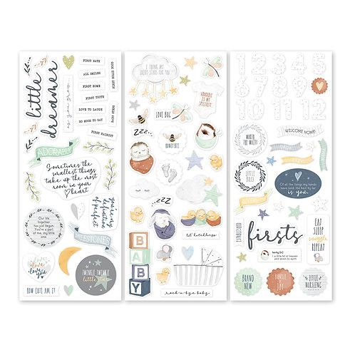 Little Dreamer Stickers (3/pk)
