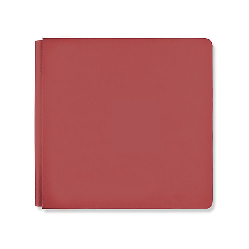 12x12 Currant Red Album Cover