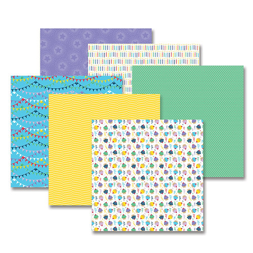 Party Time!  Bright Paper Pack (12/pk)