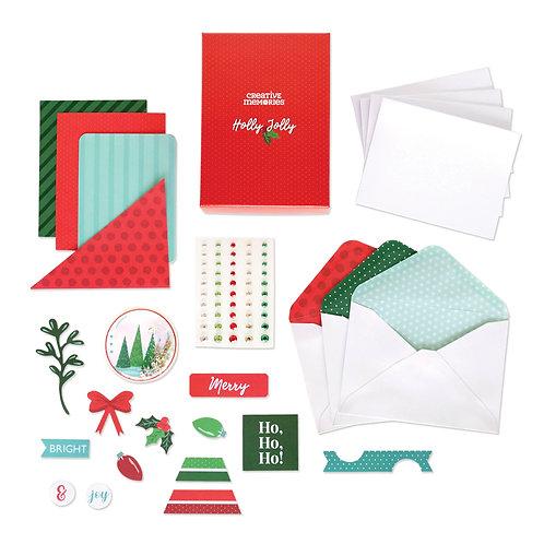Holly Jolly Holiday Card Kit (12pk)