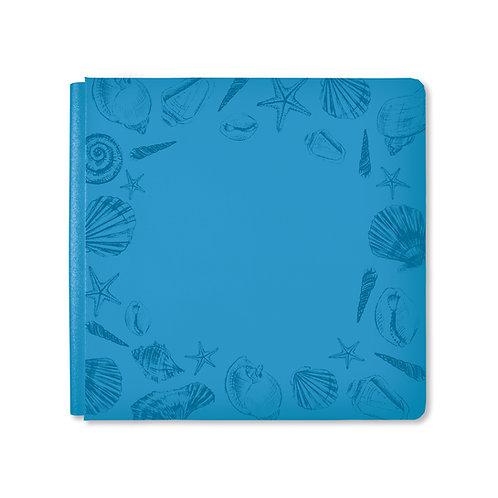 12X12  Ocean Blue Seaside Album Cover