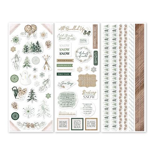 Winter Woods  Stickers (3/pk)