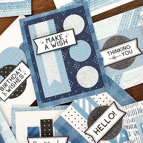 Creative-Memories-Denim-Cards-Kit-Blue-J