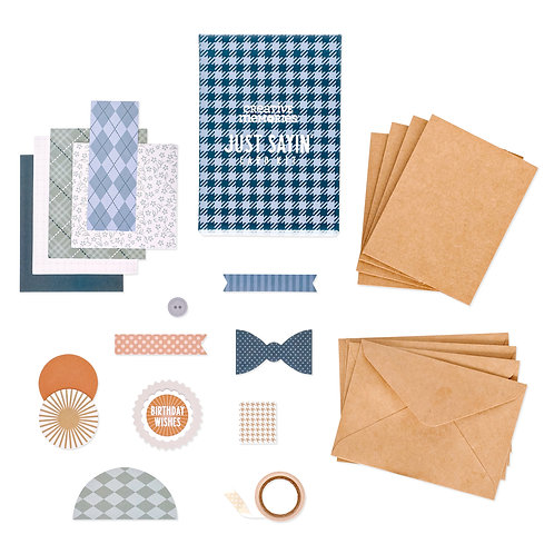 Just Saying Card Kit (12pk)