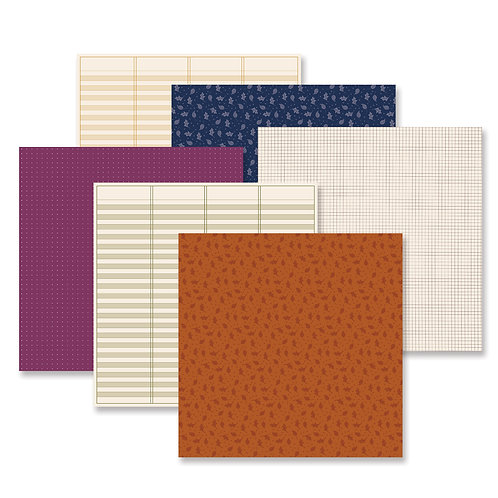 It's Fall Y'all Tone on Tone  Paper Pack (12/pk)