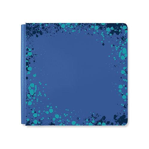 12X12  Classic Blue Emerald Gemstone Album Cover