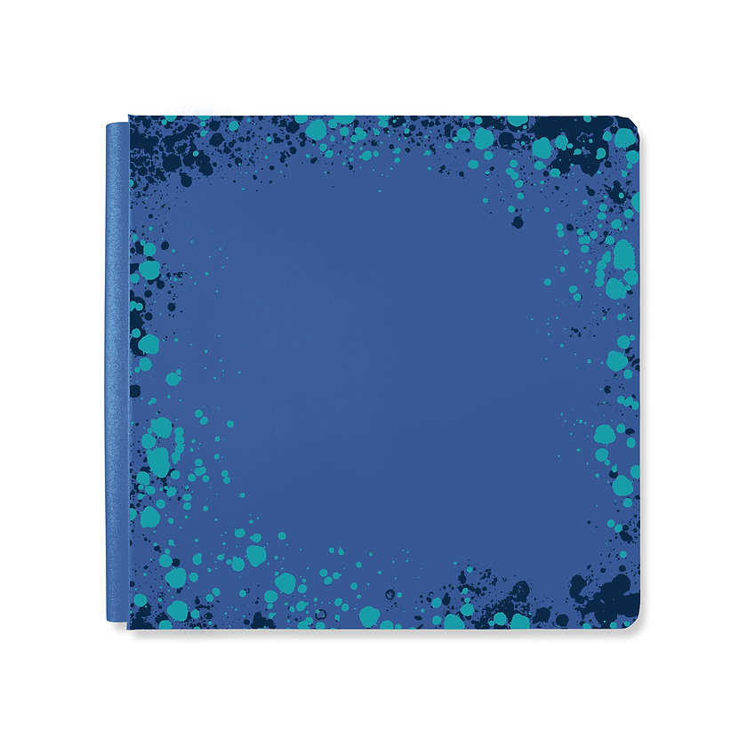 Creative-Memories-Paint-Splatter-Album-C