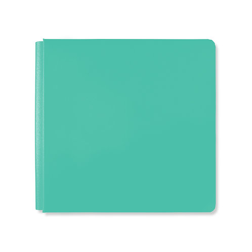 12x12 Electric Teal Album Cover