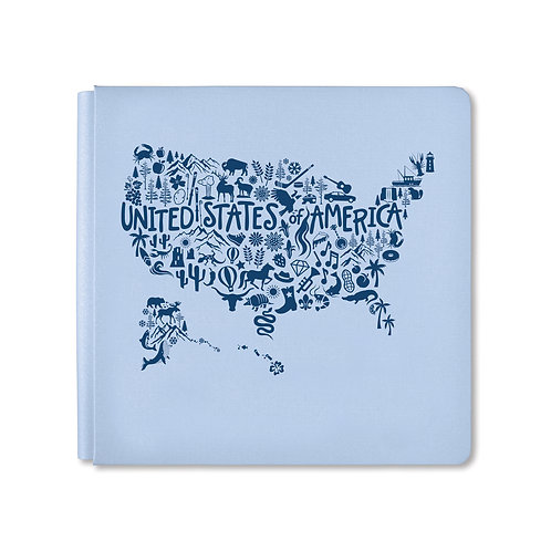 12X12 Icy Blue United We Stand Album Cover