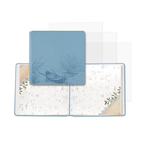 12x12 Cashmere Blue Spring Cottage Fast2Fab™ Album