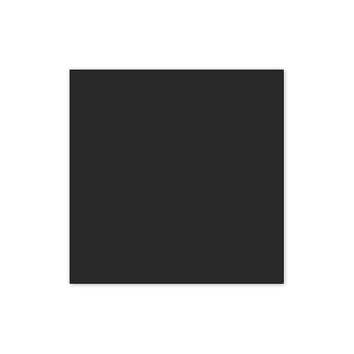 Black Solid 12x12 Cardstock Paper Pack (10/pk)