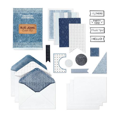 Blue Jeans Card Kit