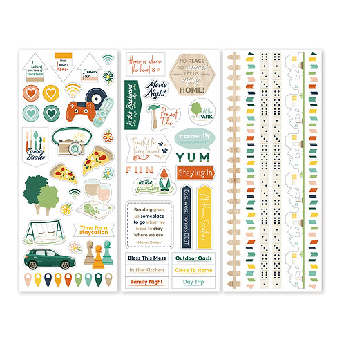 Staycation Stickers  (3/pk)