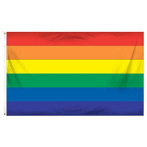 Large Rainbow Flag