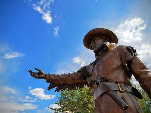 Bridger Statue at Front Entrance.jpg