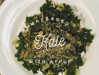 Massaged Kale with Apple