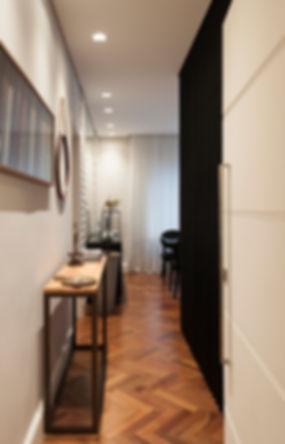 design, interiores, decoração, apartamento, studio, espaços, projeto, moderno, preto, cimento, concreto, decor, revestimento, contemporâneo, projeto