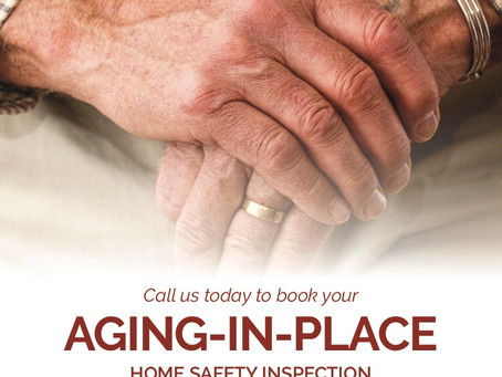 """""""Aging-in-Place"""" Home Safety Inspection"""