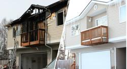 Taylored Restoration - Balcony Before &