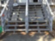 Exterior Stairway Remodel - before