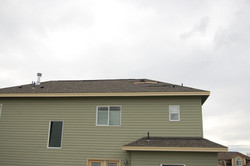 Wind Damage - Roof Damage Before