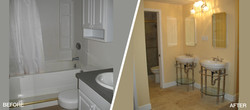 Bathroom Remodel Before & After