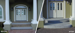 Front Remodel Before & After