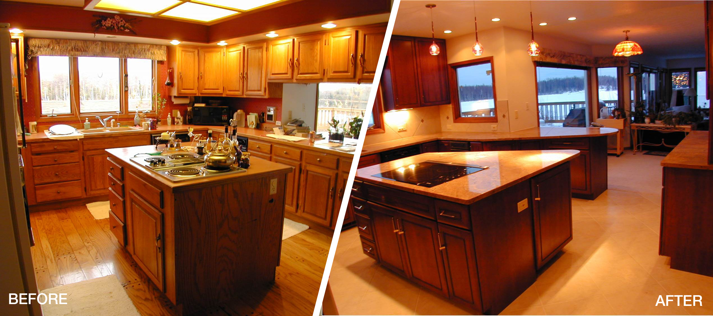 Kitchen Remodel Before&After