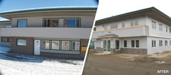 Commercial Exterior Remodel Before&After