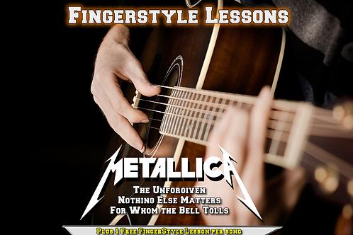 Metallica 3 Song acoustic set